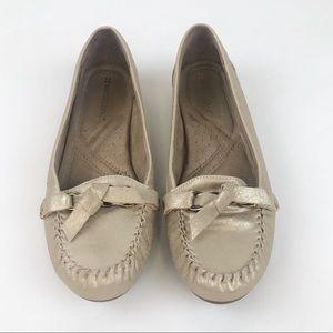 Naturalizer Gold Slip-on Flats Moccasins Loafers 8
